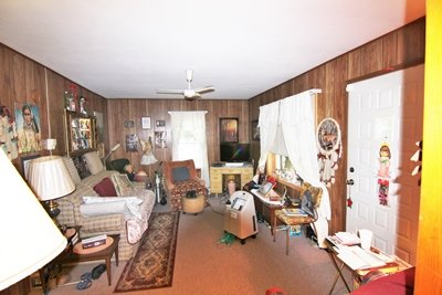 Small Burton Home Living room