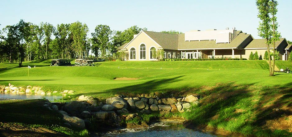 The Preserve neighborhood with Golf Cource