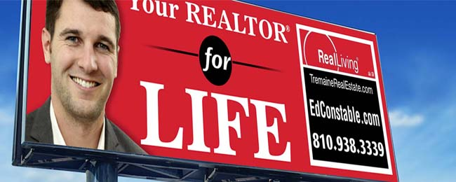 Ed Constable, Top Real Estate Agent