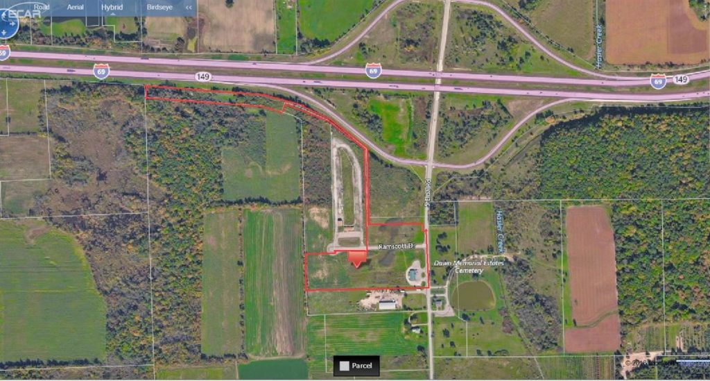 commercial property on 1550 s elba rd elba mi