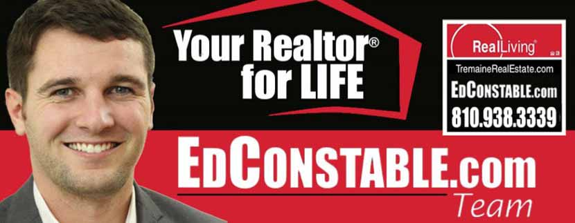 real estate agent Ed Constable working in real estate