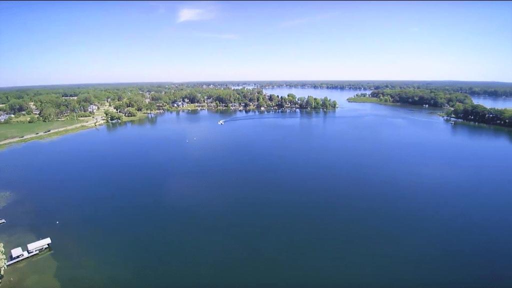 history of lake fenton