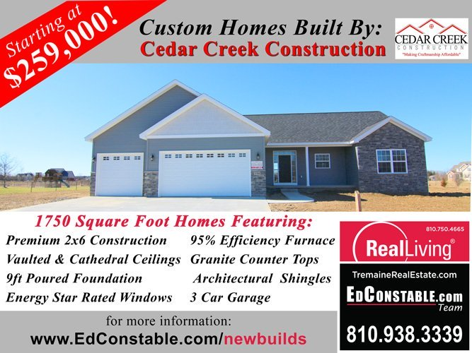 Cedar Creek Construction Fenton New Build