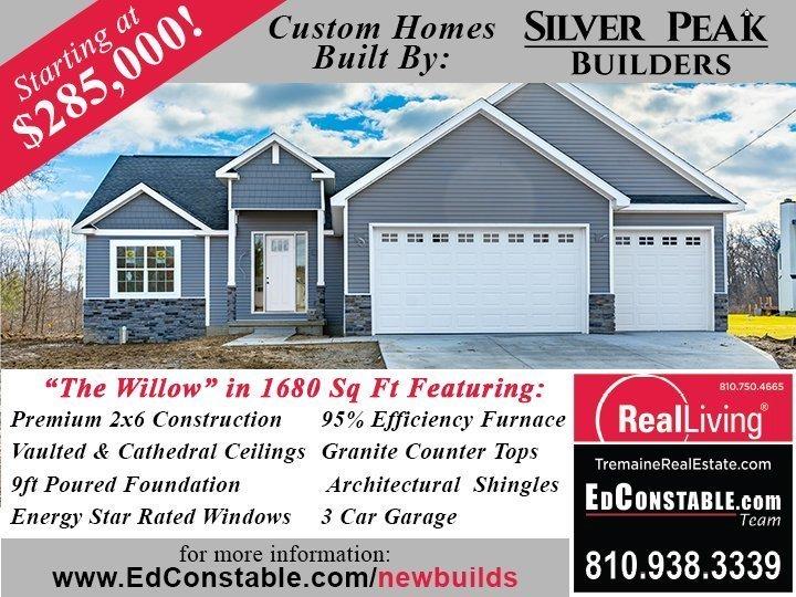 Silver Peak Builders New Home Construction Fenton MI