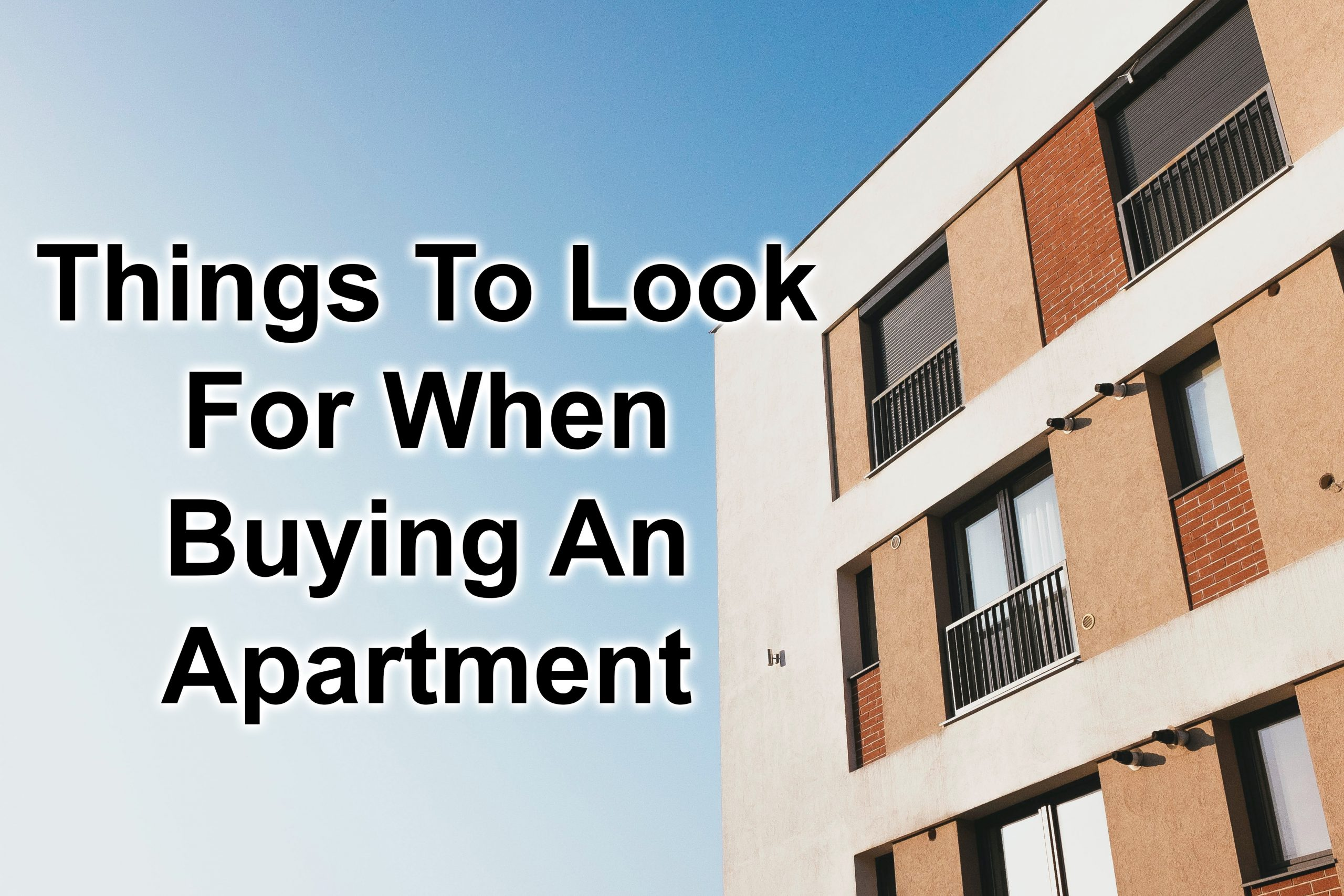Buying An Apartment Complex