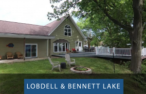 Lobdell and Bennett Lake Waterfront