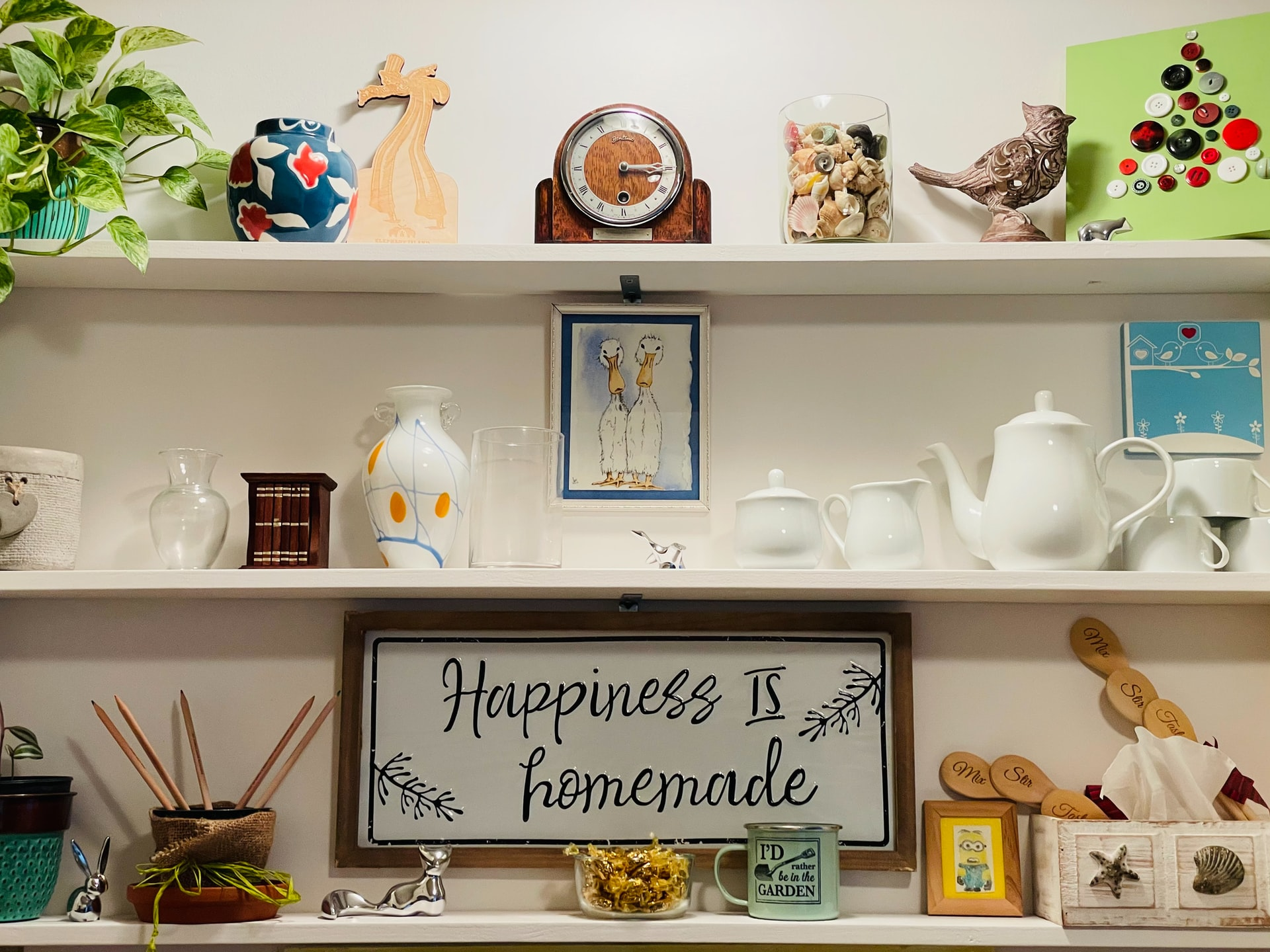 Breathe New Life Into a Cluttered Home
